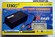 Зарядний пристрій для автомобільних акумуляторів UKC Battery Charger 5A MA-1205