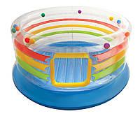 Надувной детский игровой центр - батут Intex, 48264 Радуга
