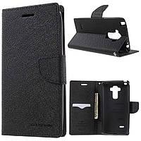 Чехол книжка Mercury Fancy Diary для LG G4 Stylus H540 Black