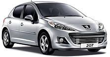 Фаркопы на Peugeot 207 (с 2006--)