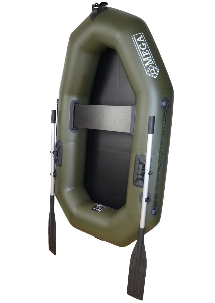 Гребний човен надувний пвх OMega Ω 190 L , поворотні кочети