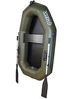 Гребний човен надувний пвх OMega Ω 190 L , поворотні кочети, фото 1