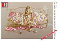 "Набор вышивка бисером ""Балерина"" А4 (частичная зашивка)"