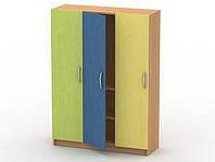 Шкаф для белья (3 секции,2 полки)