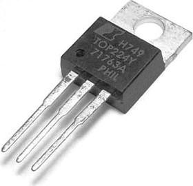 TOP224YN (45W /5.7 V) TO-220. Преобразователи переменного тока в постоянный 45W 85-265 VAC 75W100/1