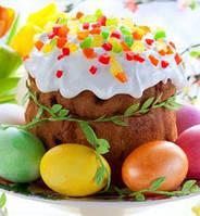 Цукаты, глазурь, красители для яиц