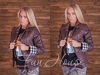 Женская куртка демисезонная 155