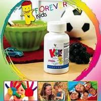 Витамины для детей лучшие -натуральные и вкусные.Форевер Кидз,США,120 таб., фото 1