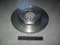 Диск тормозной VW T5 задний, вентилируемый(производитель TRW) DF4312