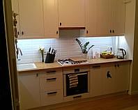 Кухня  по индивидуальному проекту  (МДФ крашеный)