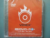 DVD-R 8 см VIDEX 1,4 гб