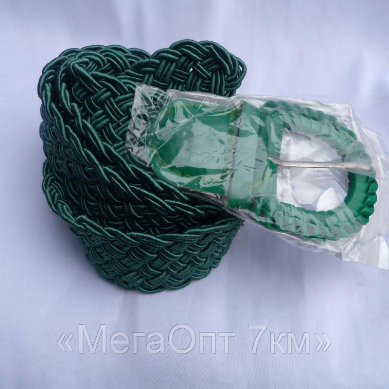 Ремень женский ПЛЕТЕНКА ЗЕЛЕНЫЙ 40мм купить купить оптом дешевые в Одессе на 7км 7км модные новые