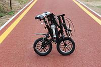 Складной портативный мини велосипед широко колесный FITQ14 дюймов.