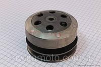 Вариатор задний в сборе скутер 50-100 куб.см
