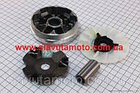 Вариатор передний+втулка+крыльчатка к-кт(GXmotor) скутер 50-100 куб.см