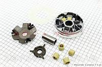 Вариатор передний+втулка+крыльчатка к-кт (MEISIDUM) скутер 50-100 куб.см