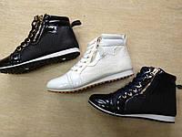 Детские демисезонные ботинки для девочек Linix оптом Размеры 30-35
