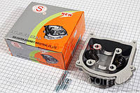 Головка цилиндра+клапана в сборе 47мм-80cc (SEE) скутер 50-100 куб.см