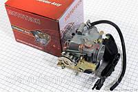 Карбюратор в сборе (пласт. крышка, с электроклапаном) Mototeh скутер 50-100 куб.см