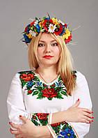 Блузка ручної вишивки бісером, фото 1