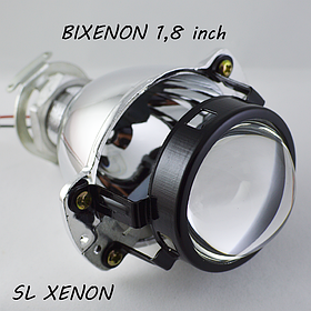 Мини линзы 1.8 дюйма под лампу H1, со штокой, маски в комплекте