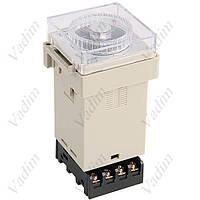 Аналоговый термостат E5C2 регулятор температуры с датчиком 0 - 400С базовое температурное реле 220 В