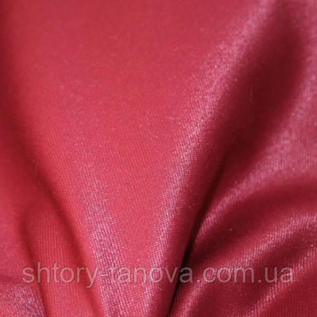 Атласная скатерть ткань бордо