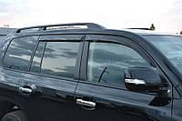 Комплект автомобильных дефлекторов окон ветровиков Toyota Land Cruiser 200 5d 2007/Lexus LX570 (URJ200) 2007 (Тойота ленд крузер 200) Cobra Tuning