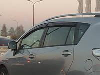 Дефлекторы окон ветровики Toyota Verso 2009 (Тойота Версо) Cobra Tuning