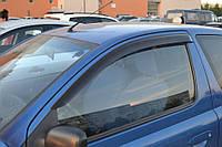 Дефлекторы окон ветровики Toyota Yaris/Vits I 3d 1998-2005/Echo 3d 1999-2005 (Тойота ярис) Cobra Tuning