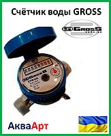 """Счётчик воды """"Gross"""" ETR - UA 1.5 хол."""