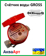 """Счётчик воды """"Gross"""" ETR - UA 1.5 гор."""