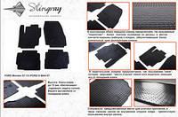 Комплект резиновых ковриков в автомобиль (полиуритановые) Ford Mondeo 13 (Форд Мондео) (4 шт), Stingray