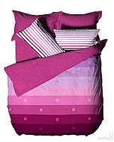 Rомплект постельного белья le vele RAINBOW LILAC интернет магазин простыни