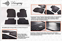 Коврики салона   Mitsubishi ASX 10 (Митсубиси) (2 шт) передние, Stingray