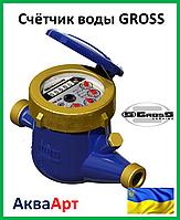 """Счётчик воды """"Gross"""" MTK - 1.5 чугун"""