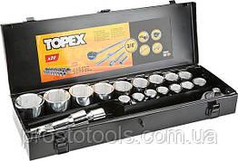 Набор инструмента  20 ед. 3/4 Topex 38D296