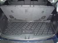 Полиуритановый коврик в багажник автомобиля Honda Pilot 7мест (08-)  (Хонда Пилот), Lada Locker
