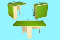 Детский стол пенал салатовый 082 Финекс Плюс