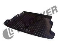 Полиуритановый коврик в багажник автомобиля Volkswagen Sharan (95-10) (Фольксваген Шаран), Lada Locker