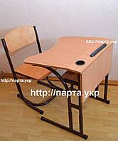 Антисколиозный ученический стол и стул, фото 1