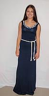 Платье Морской стиль 6736