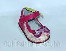 Туфлі з бантом для малюків