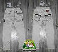 Стильные белые брюки для мальчика