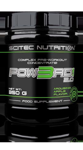 ПРЕДТРЕНИРОВОЧНЫЕ КОМПЛЕКСЫ Scitec Nutrition Pow3rd! 2.0 25 sachets