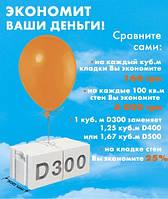 Газоблоки AEROC EcoTerm Plus 300х200х600 паз-гребень