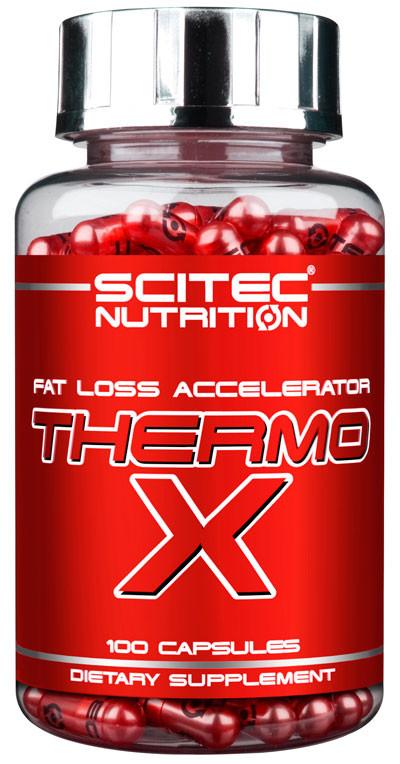 Жиросжигатели Scitec Nutrition, Thermo-X (Ignix) 100 caps