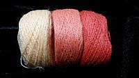 Набор вышивальных ниток, персиковые