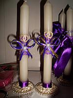 Свечи тонкие для мам Нежность