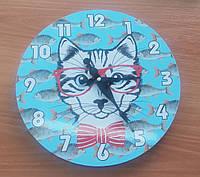 "Часы настенные ""Кот"""